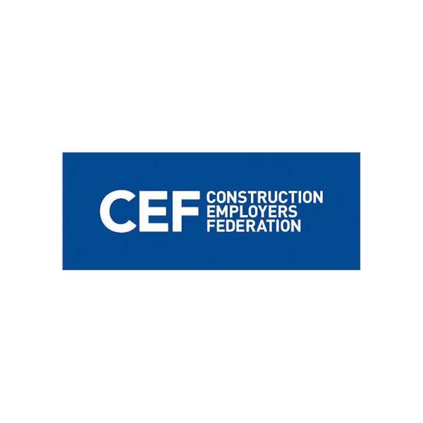 Construction Employers Federation (CEF) Logo