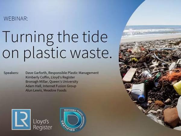Webinar - Turning the Tide on Plastic Waste