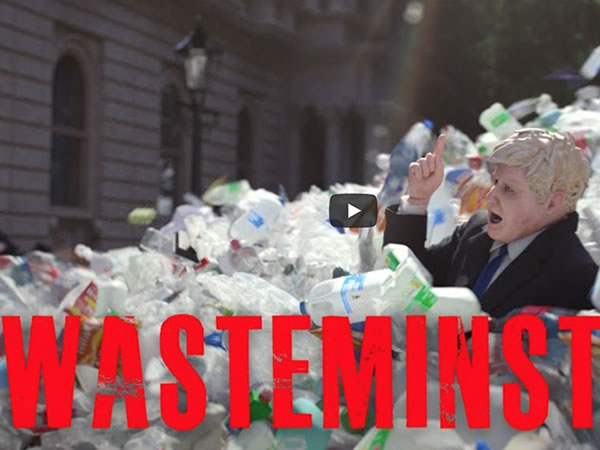 Greenpeace Video - Wasteminster: exporting the UK's plastic crisis